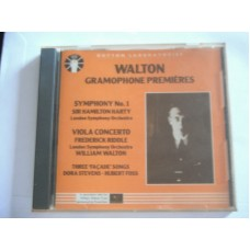 William Walton: Gramophone premieres - Frederick Riddle