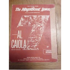 Theme from The Magnificent Seven Al Caiola - sheet music