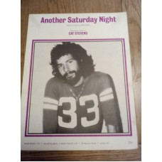Another Saturday Night Cat Stevens - sheet music - Sam Cooke