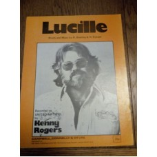Lucille - Kenny Rogers - sheet music - R Bowling H Bynum