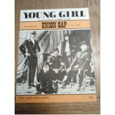 Young Girl Union Gap - sheet music - Jerry Fuller