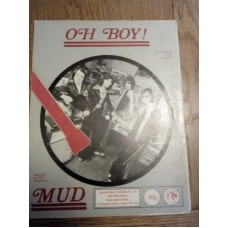 Oh Boy - Mud - Sheet Music - Tilghman Petty and West