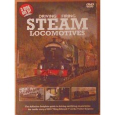 Driving And Firing Steam Locomotives 3xDVD