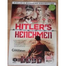 Hitler's Henchmen (4xDVD + Magazine) Bormann Himmler Hess Goering