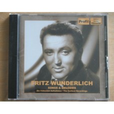 Fritz Wunderlich: Songs & Melodies