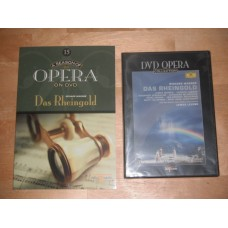 DVD Opera Collection 15 - Das Rheingold Wagner James Levine