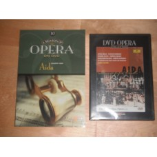 DVD Opera Collection 10 - Aida Verdi - James Levine