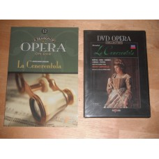 DVD Opera Collection 12 - Rossini - La Cenezentola - Campanella