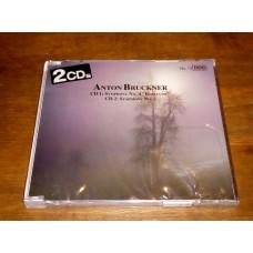 Anton Bruckner 2CD - Symphony No. 4 Romantic - Symphony No. 2