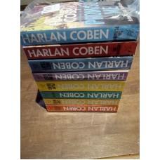 8 Harlan Coben Books Set