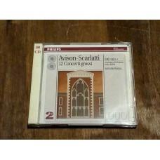 Avison - Scarlatti - 12 Concerto Grossi - Neville Marriner (2xCD)