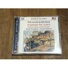 William Schuman - Symphonies Nos. 4 and 9 / Circus Overture Gerard Schwarz