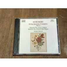 Schubert: String Quartets Complete - Volume 2 - Kodaly Quartet