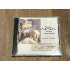 Albinoni - Complete Oboe Concertos - Standage - Collegium Musicum 90