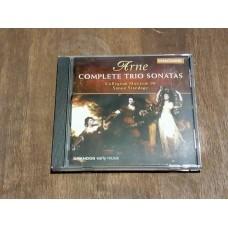 Arne - Complete Trio Sonatas -Collegium Musicum 90 - Standage