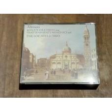Albinoni - Sonate da Chiesa Op 4 Trattenimenti Armonici Op 6 - The Locatelli Trio (2xCD)