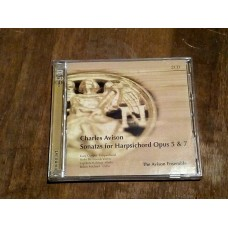 Avison - Sonatas For Harpsichord Opus 5 & 7 - Avison Ensemble 2xCD