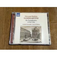 Sammartini - Six Symphonies 1730-1750 Kevin Mallon Aradia Ensemble