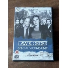 Law And Order: Special Victims Unit - Season 10 - Complete (5 Disc)