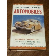 Observer's book of AUTOMOBILES 1955 1st EDITION