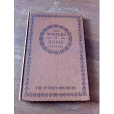 The writers of Rome - J Wright Duff Worlds Manuals 1923
