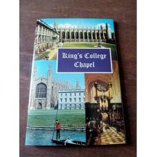 Kings College Chapel Plus 3 Postcards Cambridge 1974