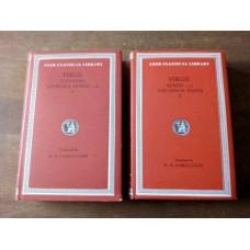 Virgil Eclogues Georgics Aeneid 1-6 and Aeneid 7-12 Minor Poems Fairclough HB