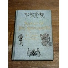 Songs of Two Savoyards W.S Gilbert Arthur Sullivan 1892 Routledge