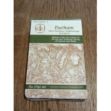 Sheet 9 Durham Reprint of first edition of One Inch Ordnance Survey of England and wales