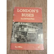 London's Buses Illustrated - Allan OJ Morris Booklet