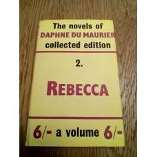 The Novels of Daphne Du Maurier 2 Rebecca 1962 HB