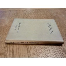 Cicero de Officiis - Book 3 - Holden - Pitt Press Series 1949 Hardback