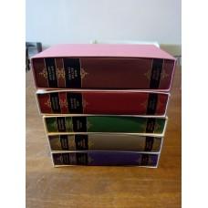 5 Anthony Trollope Folio Books with slipcases