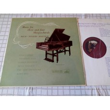 Bach Vivaldi Malcolm - Music For Three And Four Harpsichords Eileen Joyce
