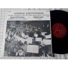 Wilhelm Furtwangler Concert Recording Beethoven Symphony No 5 Sibelius En Saga 1950
