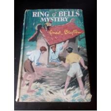 Enid Blyton Ring O'Bells Mystery 1951 1st Ilustrated Collins Hardback