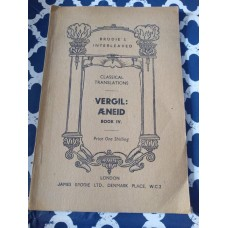 Brodies Interleaved Classical Translations - Selected Poems of Vergil Aeneid Book iv