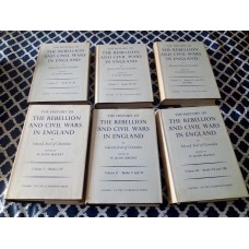 The History of the Rebellion and Civil Wars in England 6 Vols Edward Earl of Clarendon