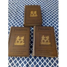 Pugilistica - The History of British Boxing - Henry Downes Miles - 3 Volumes 1906