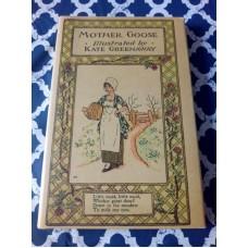 Mother Goose or the Old Nursery Rhymes - Kate Greenaway Warne HB