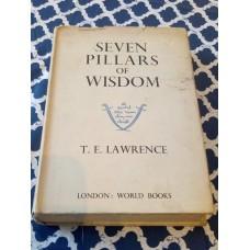 Seven Pillars of Wisdom - TE Lawrence London World Books