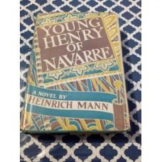 Young Henry of Navarre - Heinrich Mann Grosset Dunlap 4th printing 1937