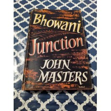 1954 Bhowani Junction, John Masters, Michael Joseph Hardback
