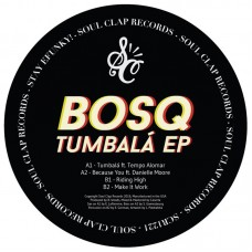 Tumbala EP (feat. Danielle Moore & Tempo Alomar) Green Vinyl