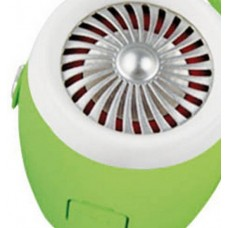 Mighty Music Engine Portable Bluetooth Speaker White / Green