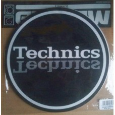 Technics Slipmats (Pair) Mirror Logo NEW