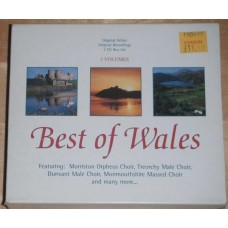 Best Of Wales - Morriston Orpheus Choir - Treorchy Dunvant (3xCD)