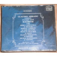 Claudio Abbado Conducts Verdi - Macbeth - Cappuccilli Verrett Ghiaurov Tagliavini (2xCD)