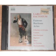 Largo Al Factotum: Famous Baritone Arias