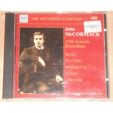 John Mccormack Edition 1: the Acoustic Recordings